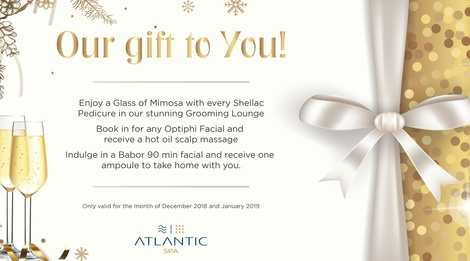 Atlantic Spa - Festive Special