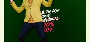 10% DISCOUNT FOR Pensioners