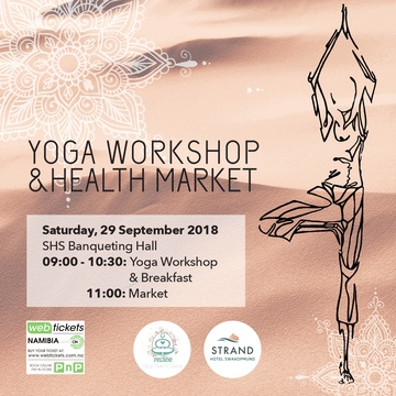 Yoga workshop and Health Market